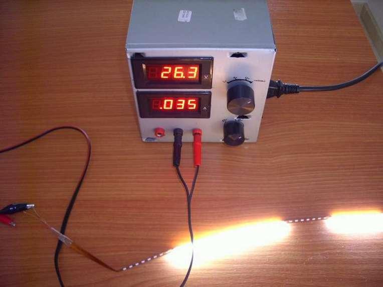 Fuente de Alimentación alimentado tira de LEDs