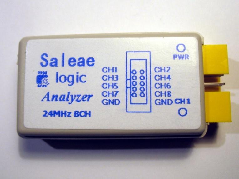 Analizador Lógico MCU123 Saleae Logic clone