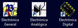 Iconos Escritorio Curso Todoelectronica