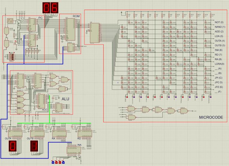 Circuito - Computadora 4 Bits V2