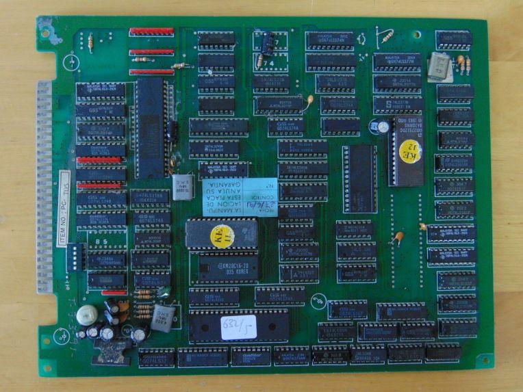 Atari Games - Tetris board (Puzzle 1988)