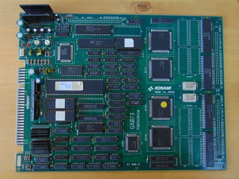 Konami - Thunder Cross II board (Shooter 1991)